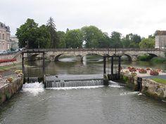 La Sauldre à Romorantin-Lanthenay
