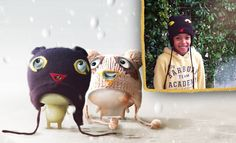 Matthew Stitch loves looking at the falling snowflakes in his cool panther hat. Callie Stitch loves to join him. Who else loves watching snowflakes fall?