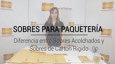 VÍDEO: Tipos de Sobres para Paquetería https://www.cajadecarton.es/