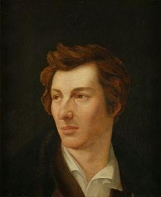 Heinrich Heine (13 december 1797- 17 februari 1856) Portret door Gottlieb Gassen, 1828