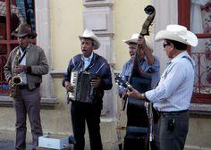 street mariachi in mexico