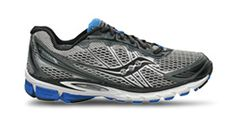 Try Saucony's shoe advisor to get the right shoes for your feet.  http://www.saucony.com/store/SiteController/saucony/shoeadvisor