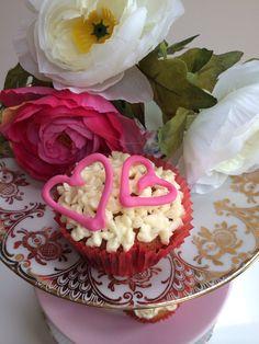 Valentijns-cupcake