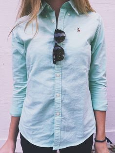 A classic button up goes a long way. (scheduled via www.tailwindapp.com)