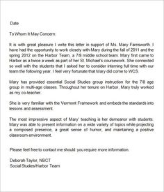 Sample Letter Of Recommendation For A Principal From A Teacher from i.pinimg.com