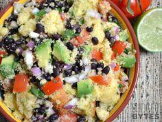 Salada de Pão de Milho // Southwest Cornbread Salad