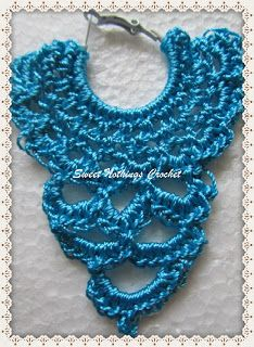 Sweet Nothings Crochet: CHANDELIER-LIKE EAR RING