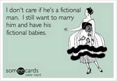 Why can't fictional guys be real?