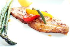 Pan-Fried Fish with Peppers