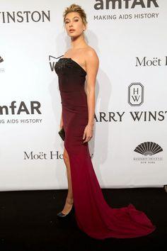 Hailey Baldwinin Gabriela Cadena   - HarpersBAZAAR.com