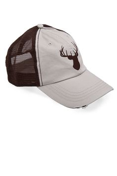 sports shoes d6720 a9d85 Country Girl ® Deer Head Brown Trucker Hat - Country Fashion Clothing  Country Hats, Country