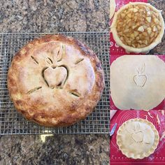 A little pre-game practice before the big day next Thursday. Braeburn apples #thanksgiving #pie #applepie #homemade #smellsdelicious