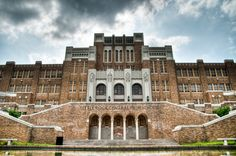 Little Rock Central High School in Little Rock, AR--Right where the Little Rock Nine went through history
