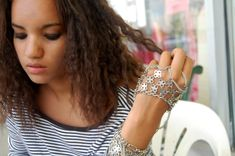 DIY: Panja, or Back of the Hand Jewelry