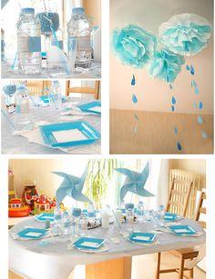 #Babyshower #Tischdeko - Es wird ein Junge!