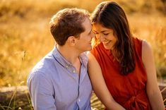 I had so much fun meeting these guys and wondering around Wimbledon Common for their pre wedding session. The light was perfect - a beautiful summers evening!