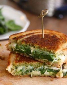 Cookbook Confessions: Pesto Avocado Grilled Cheese