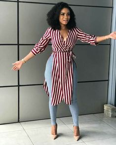 A gorgeous Ondo single mom is seeking to meet a cheerful gentleman who loves children Classy Work Outfits, Classy Dress, Stylish Outfits, Fashion Outfits, Fashion Styles, Latest African Fashion Dresses, African Print Fashion, Black Girl Fashion, Curvy Fashion