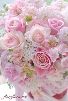 Harry heard the news and ordered bouquet of Pink Roses … – 2019 - Flowers Decor Beautiful Rose Flowers, Beautiful Flower Arrangements, Love Rose, Amazing Flowers, Floral Arrangements, Beautiful Flowers, Wedding Flowers, Wedding Bouquets, Deco Floral