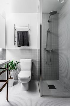 Is To Me | White and grey bathroom