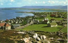STROMNESS - ORKNEY - LOOKING TOWARDS THE ISLAND OF HOY - SCOTLAND