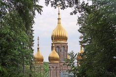 Russisch-orthodoxe Kirche Wiesbaden 02 - Russisch-Orthodoxe Kirche (Wiesbaden) – WikipediaCommons FotoWo st 01