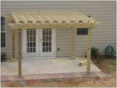 Back Yard Pergola | McDonough Fence Company | Natural Enclosures