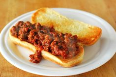 Crock Pot Sloppy Joes