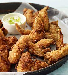 Southwest-Style Fried Wings