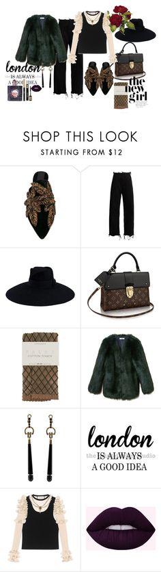 """""""Başlıksız #960"""" by suana123 on Polyvore featuring moda, Sanayi 313, Marques'Almeida, Gucci, Falke, THP, WALL ve Yves Saint Laurent"""