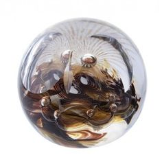 Barn Owl (Medium) - Owls - Unlimited Editions - Paperweights | Caithness Glass Paperweights