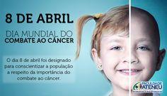 #diamundialdocombateaocancer #criandovalores #somosiguais