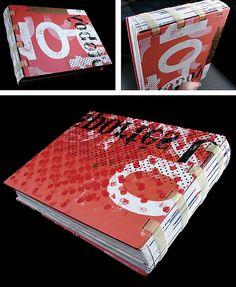 handmade portfolio book