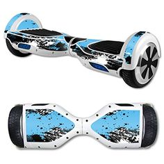 MightySkins Protective Vinyl Skin Decal for Hover Board Self Balancing Scooter mini 2 wheel x1 razor wrap cover sticker Hip Splatter *** Visit the image link more details.