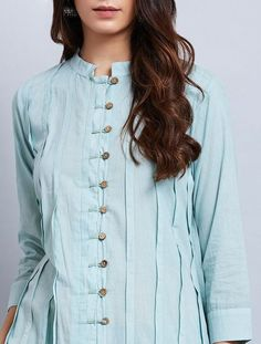 Simple Kurti Designs, New Kurti Designs, Salwar Designs, Kurta Designs Women, Kurti Designs Party Wear, Latest Dress Design, Stylish Dress Designs, Simple Pakistani Dresses, Pakistani Dress Design