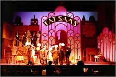 bugsy malone stage set - Google Search