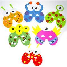 Little Monster Foam Mask £0.50