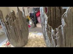 kreative Beton Pflanzenschalen - YouTube