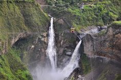 Baños, Équateur. | 26 paysages d'Amérique Latine à couper le souffle