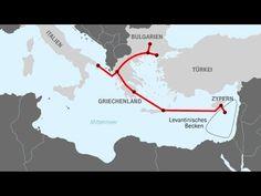 Αύριο η υπογραφή της διακρατικής συμφωνίας για την κατασκευή του αγωγού ... Map, Cyprus, Greece, Bulgaria, Mediterranean Sea, Cards, Location Map, Maps