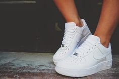 WEARING NIKE AIR FORCE 1
