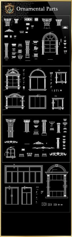 Ornamental Parts of Buildings 8