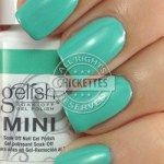 Gelish A Mint of Spring Swatch - Love in Bloom Collection