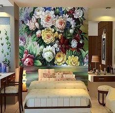 3D Blumen 4675675 Fototapeten Wandbild Fototapete BildTapete Familie DE