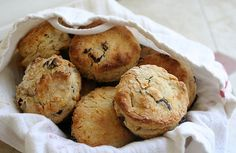 freeze scone dough as individual scones and pop them out of the freezer for a quick breakfast? Love this idea.