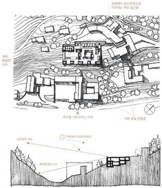 피터 줌터 _발스 온천장['Themal Bath Vals' by Peter Zumthor] : 네이버 블로그 Peter Zumthor, Thermal Vals, Floor Plans, Diagram, How To Plan, Presentation, Drawings, Ideas, Sketches