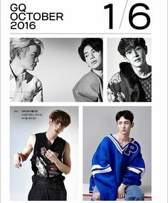 SHINee for GQ Korea October issue