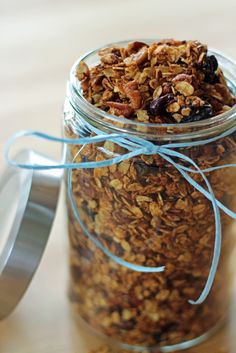 Cherry Pecan Flax Granola - The Fit Nut