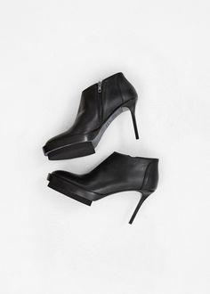 Ann Demeulemeester Platform Heel (Black)