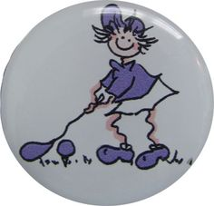 Check out our Purple Driving Golf Gals BOG Ball Marker & Shiny Nickel Visor Clip! Find the best golf gear and accessories at Lori's Golf Shoppe. Click through now to see this!